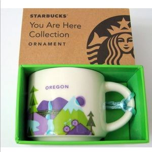 New Starbucks Oregon Coffee Mini Mug